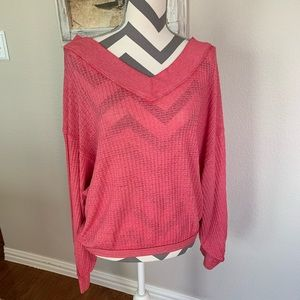 New We The Free People Pink Thermal Small